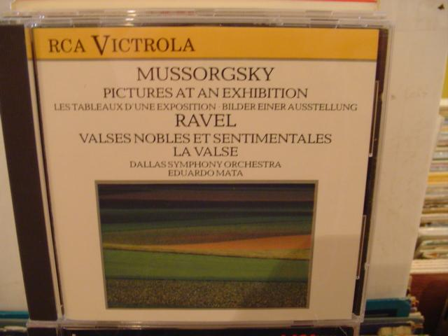 MOUSSORGSKY RAVEL - MATA RCA - CD 63
